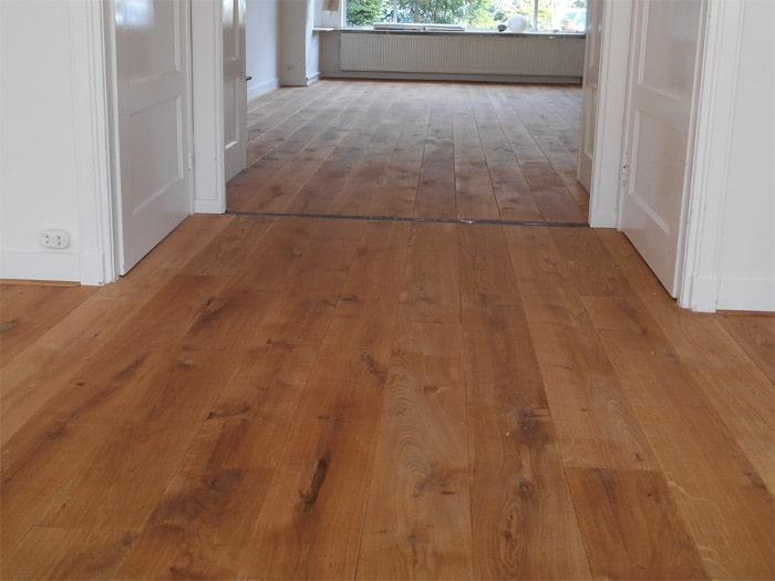 Roken van houten vloeren fairwood