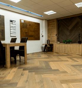 Resultaat van houten vloeren