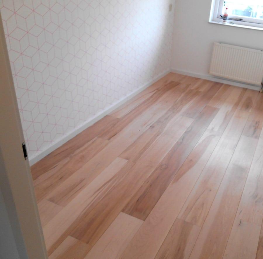 brown maple vloer