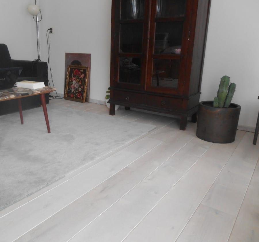 ivoorbeuken houten vloer