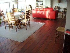 jatoba houten vloer
