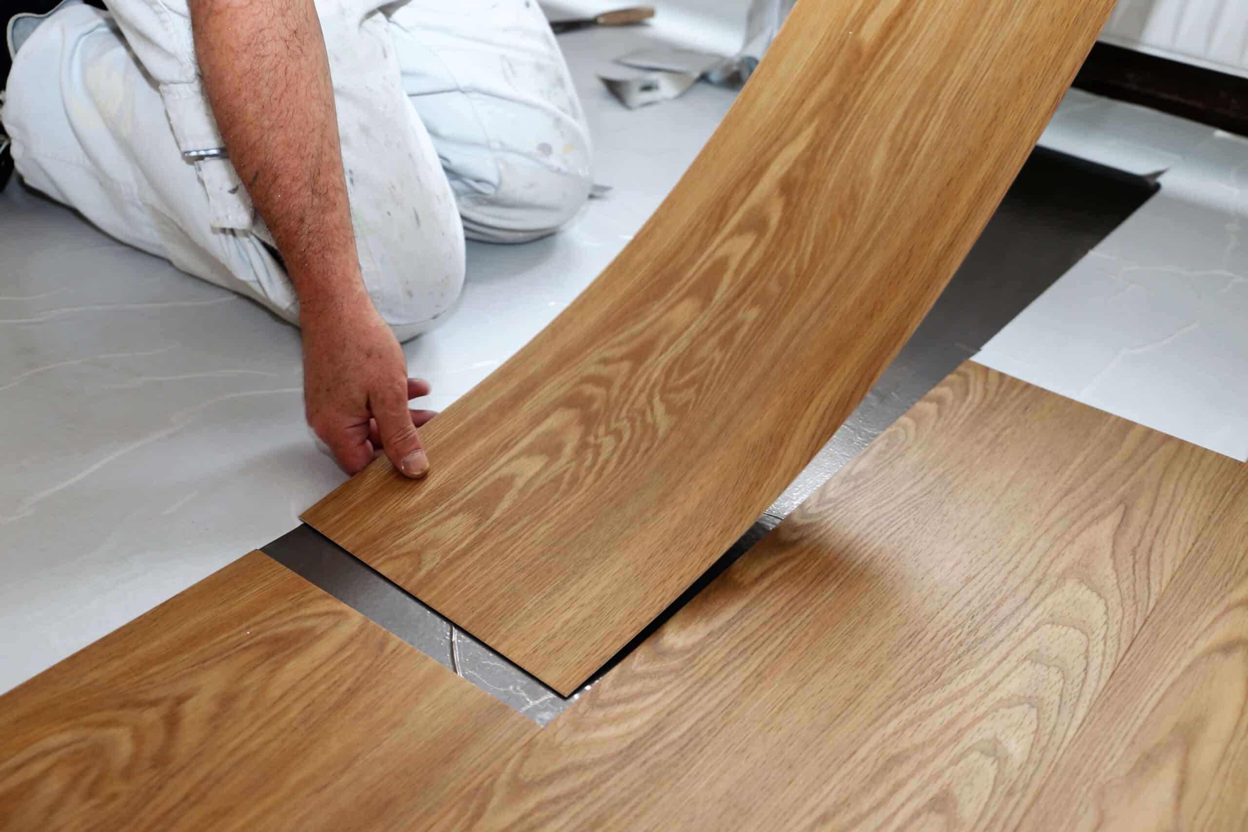 Zelf PVC vloer leggen